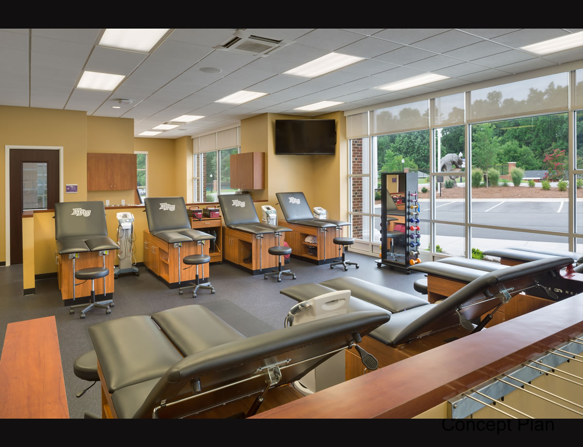 Witcher Athletic Performance Center, High Point, North Carolina