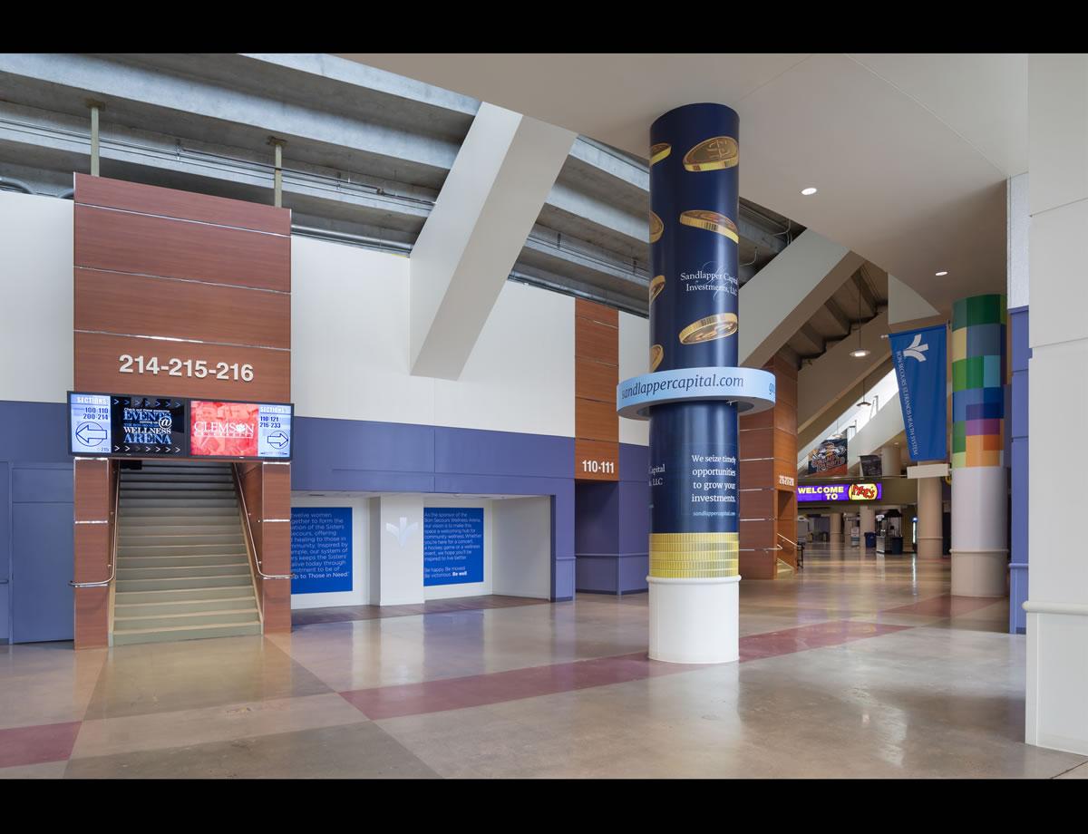 Betschassociates Bon Secours Wellness Arena Greenville South Carolina Architecture