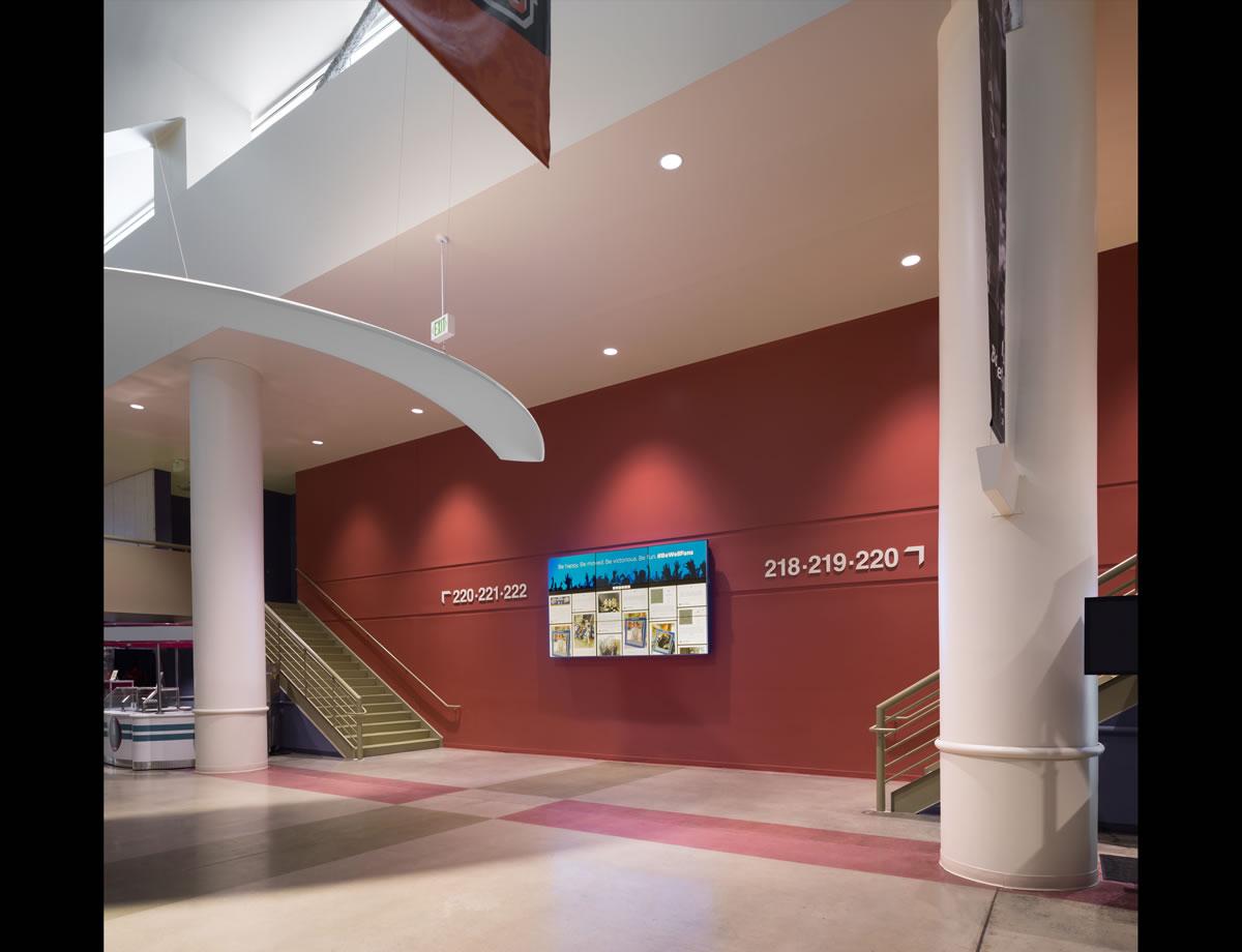 Betschassociates bon secours wellness arena greenville - Interior designers greenville sc ...
